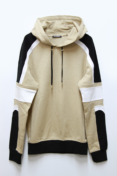 SWEAT CAPUCHE TRI COLOR