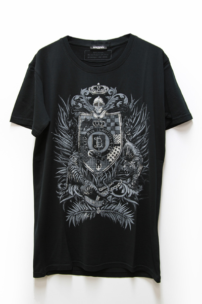 COAT OF ARMS PRINTED COTTON TEE