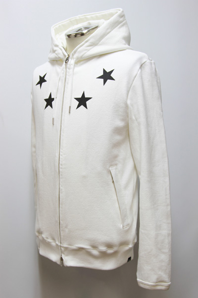 BM別注STRETCH SWEAT PISTOL★SWR ZIP PARKA「BLACK STAR」