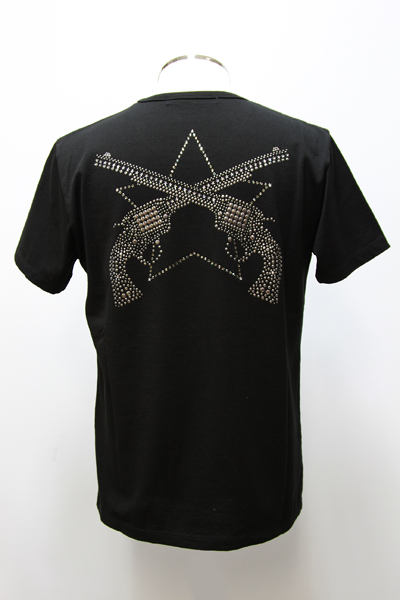 BM別注☆PISTOL SWR/CN MET/POCKET TEE「LARGE STAR」