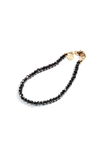 BLACK DIAMOND BRACELLET 45-50ct / 18-Karat YG