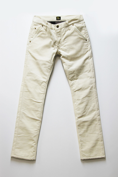 x LEE tight slim corduroy pant
