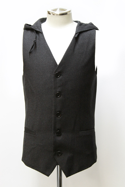 HOODED WAIST COAT