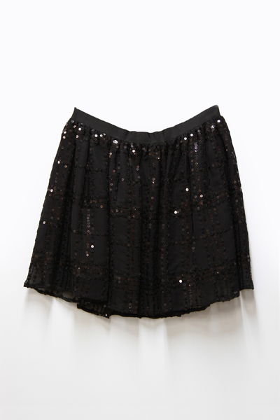 DOT SPANGLE SKIRT