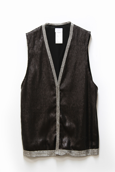 STERETCH JERSEY SPANGLE VEST