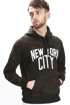 113 x NUMBER (N)〝NEW YORK CITY〟PULL OVER PARKA