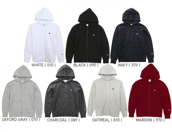 Champion Basic Series Zip Up Hoodie Sweat(C3-C119)