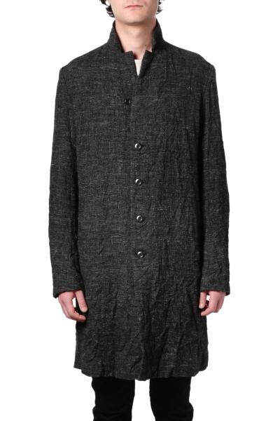 KKA HARRIS TWEED LONG COAT