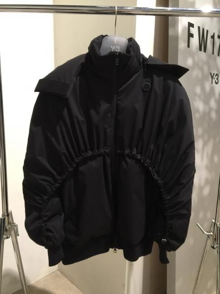 Y-3 MATTE DOWN JACKET/BL