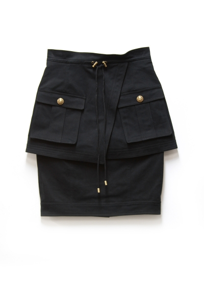 MILITARY 2 LAYERD SKIRT