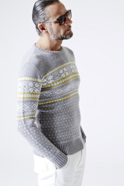 NEW SNOW CREW CASHWOOL KNIT