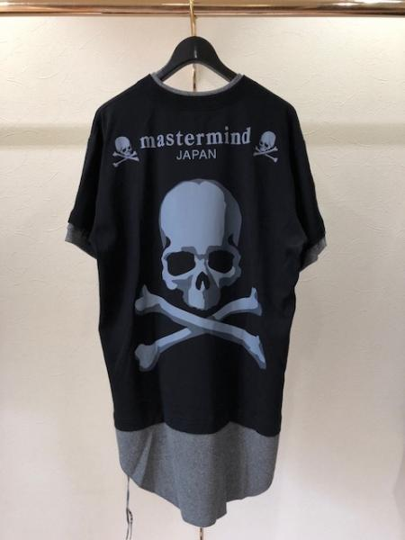 MMJ Skull printed layered t-shit(R)