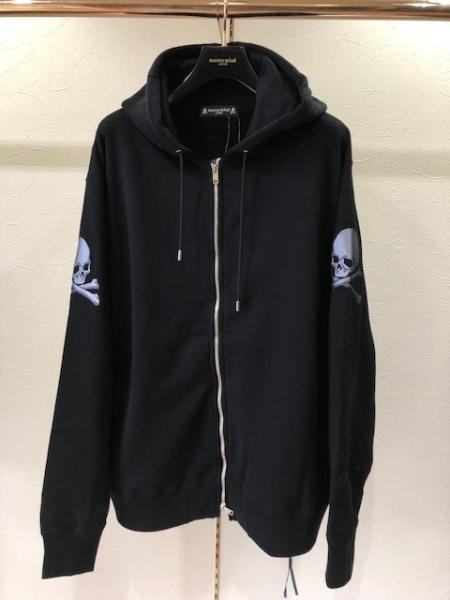 MMJ 3面 Skull zip sweat parka(R)