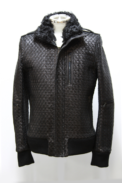 MESH FLIGHT RAMB LEATHER JKT