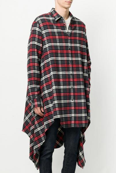 DSQUARED2 LONG CHECK SHIRT