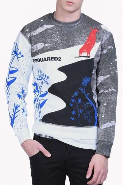 DSQUARED2 WINTER SWEAT CREW