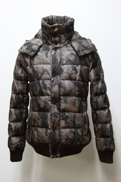 x DUVETICA HOODED DOWN JACKET「CAMO」