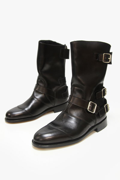 BACK ZIPPER RANGERS BOOTS「MOUTON」