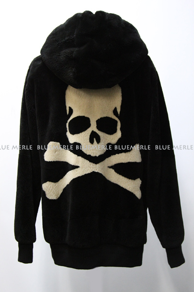 mastermind JAPAN shearing real fur zip hood parka